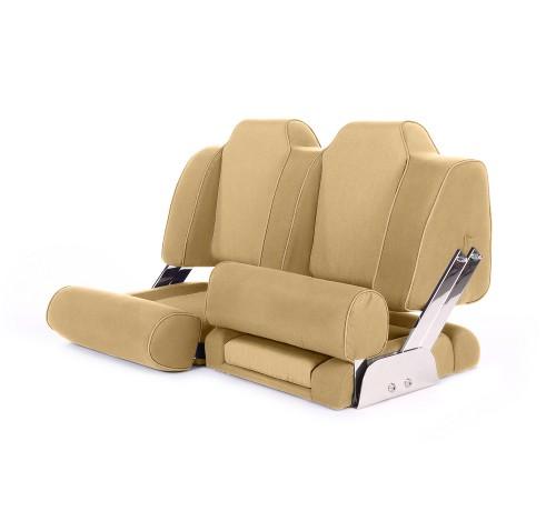 """Double boat seat """"Cruiser""""-dune beige acrylic"""