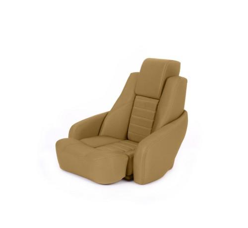 """One place pilot seat """"Captain"""" dune beige acrylic"""