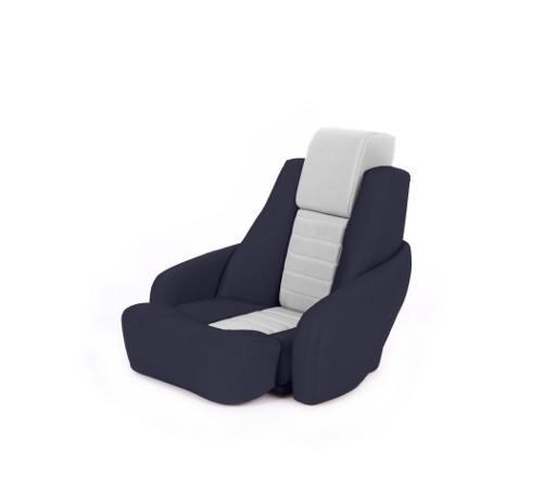 """One place pilot seat """"Captain"""" blue leather"""