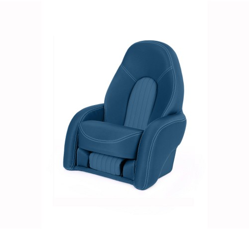 "One place pilot seat ""Navy""-marine blue acrylic"