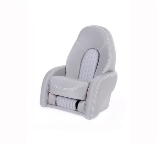 """One place pilot seat """"Navy""""-silver acrylic"""