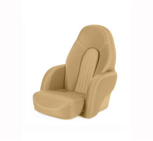 "One place pilot seat ""Navy""-dune beige acrylic"