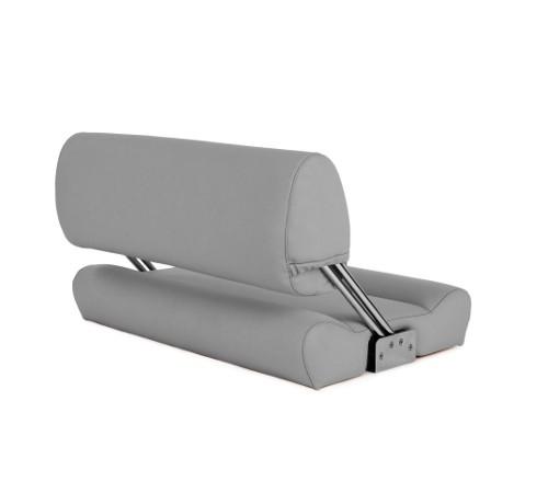 "Double boat bench ""Catamaran""-silver acrylic"