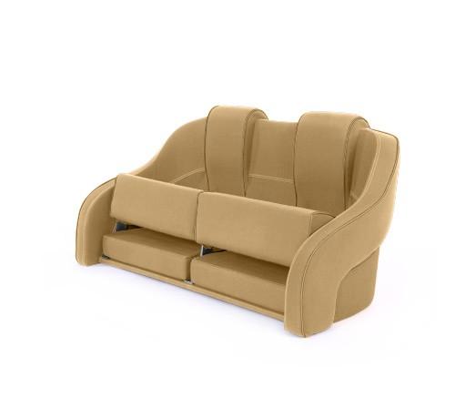 "Double boat seat ""Frigate""-dune beige acrylic"