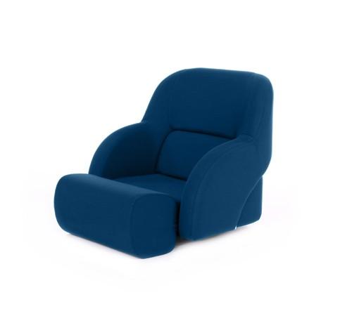 """One place pilot seat """"Cockpit""""-blue acrylic"""