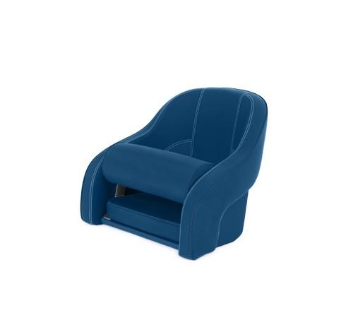 "One place pilot seat ""Regatta""-marine blue acrylic"