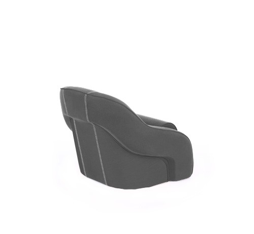 "One place pilot seat ""Regatta""-charcoal grey acrylic"