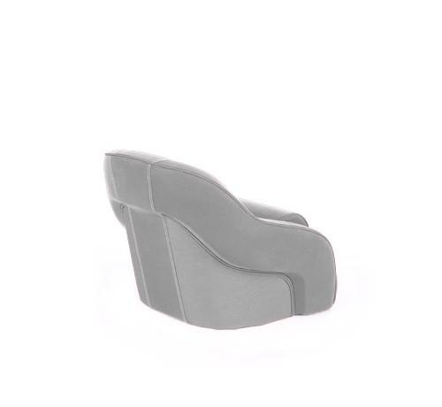"One place pilot seat ""Regatta""-silver acrylic"