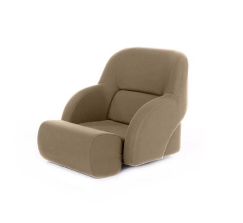 "One place pilot seat ""Cockpit""-beige artificial leather"