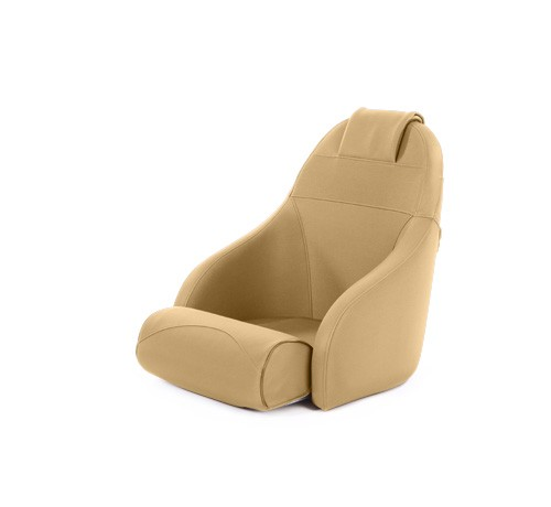 "One place pilot seat ""Boreas""-dune beige acrylic"