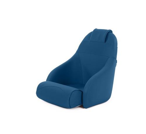 "One place pilot seat ""Boreas""-marine blue acrylic"