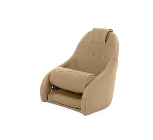 """One place pilot seat """"Boreas""""-beige leather"""