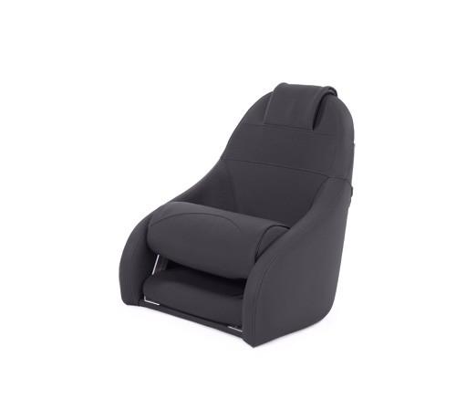 "One place pilot seat ""Boreas""-black leather"