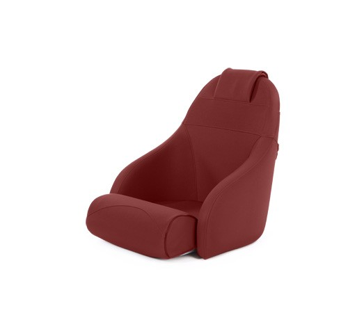 """One place pilot seat """"Boreas""""-red leather"""
