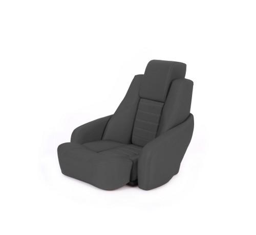 """One place pilot seat """"Captain""""-black acrylic"""