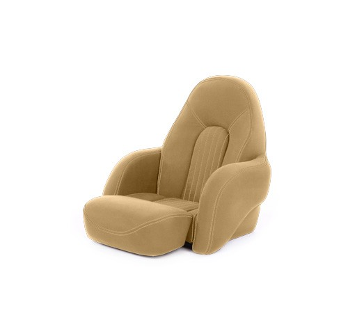 "One place pilot seat ""Navy S""-dune beige acrylic"