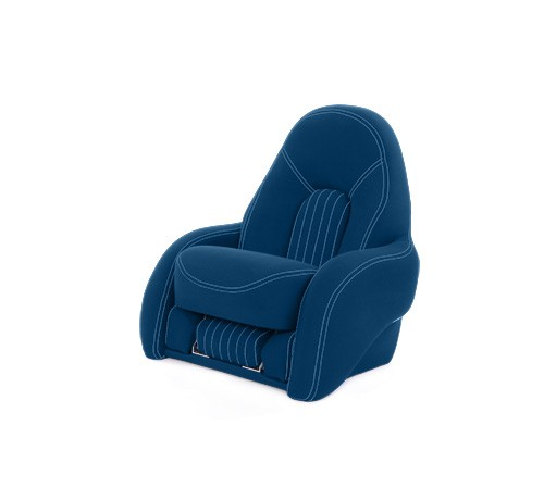 "One place pilot seat ""Navy S""-marine blue acrylic"