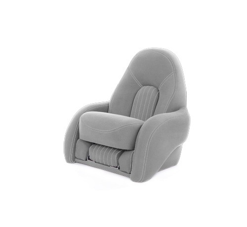 "One place pilot seat ""Navy S""-silver acrylic"