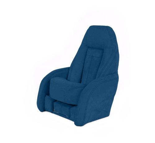 "One place pilot seat ""Norther""-marine blue acrylic"