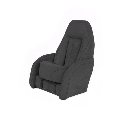 "One place pilot seat ""Norther""-charcoal grey acrylic"