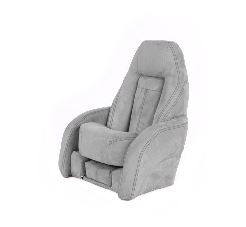 "One place pilot seat ""Norther""-silver acrylic"